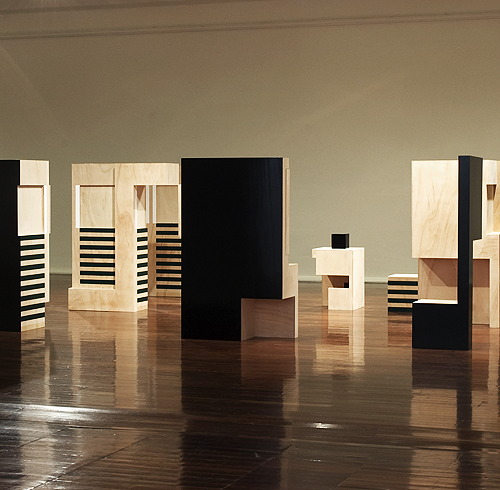 Exhibition 'Sculptural Situations' (2008) PICA - Gail Hastings