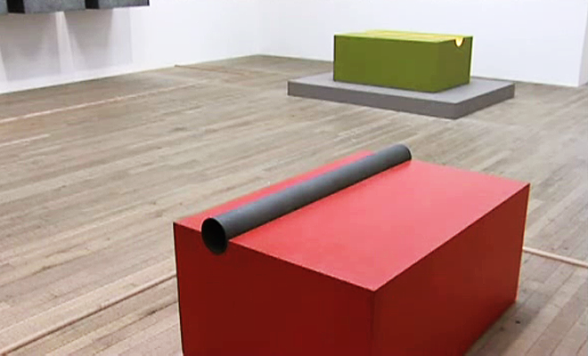 From the Tate Channel, Donald-Judd