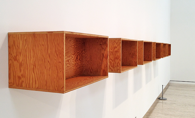 Donald Judd, 'Untitled', 1975, AGNSW - Gail Hastings Exhibition Studio