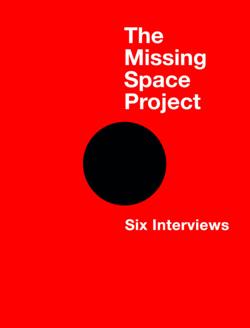 The Missing Space Project cover for website