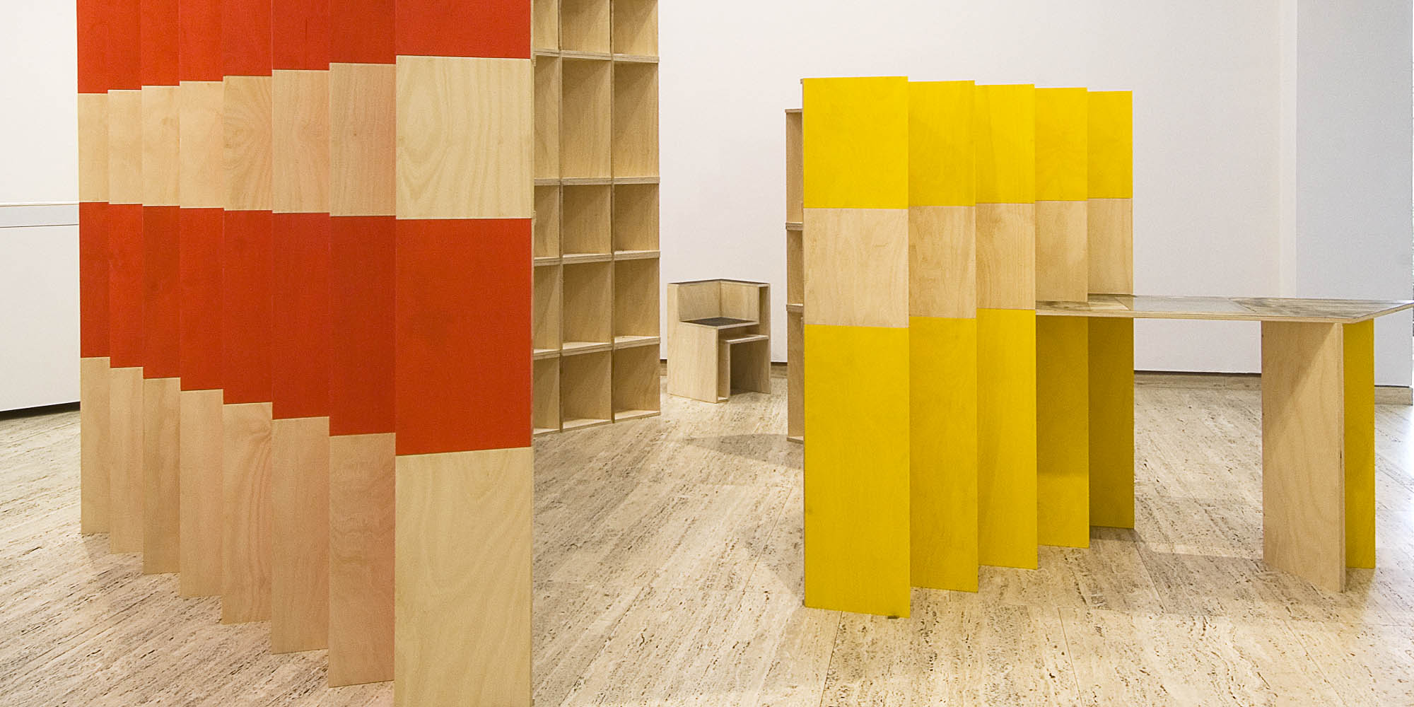 Gail Hastings, missing walls: bureaucracy art work, 2007, as exhibited at the Art Gallery of NSW; Collection: Daimler Contemporary, Berlin